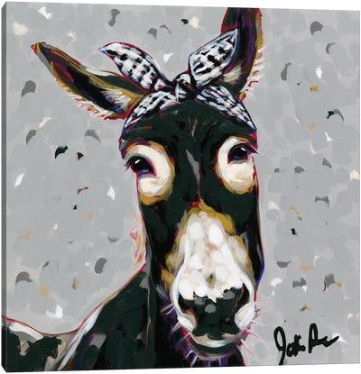 Farm Pop-Donna Canvas Art Print