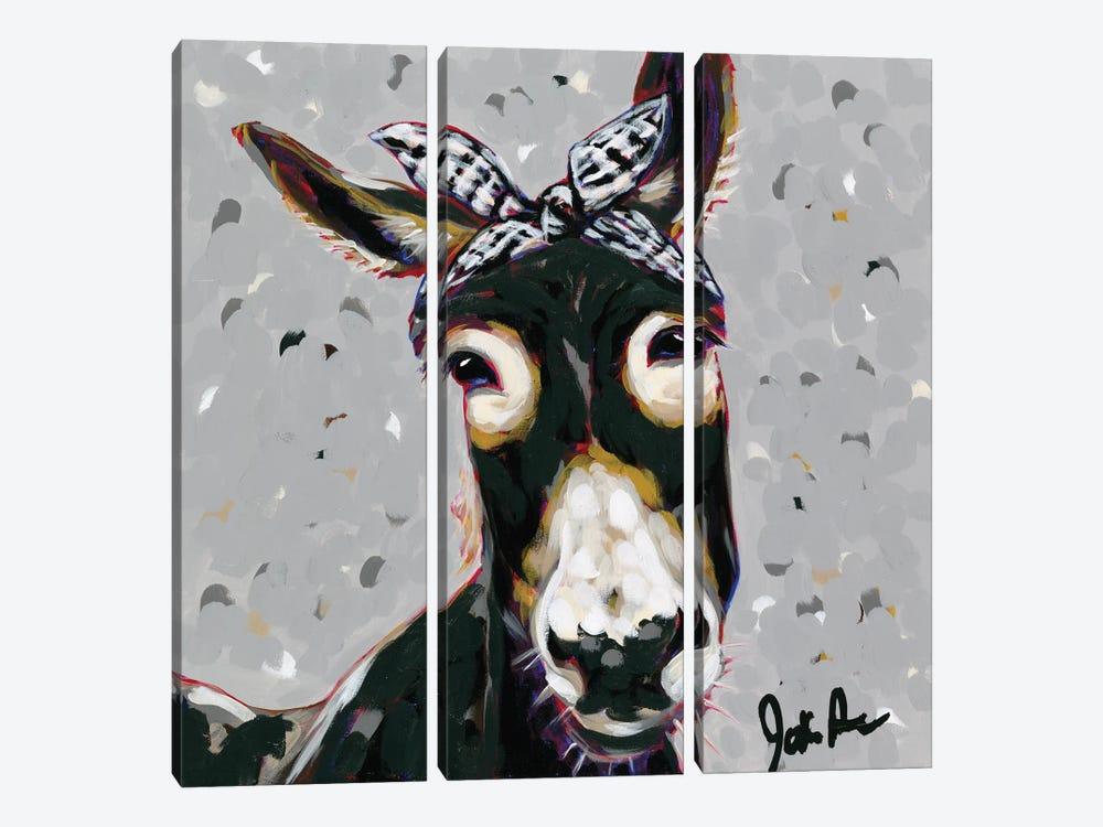 Farm Pop-Donna by Jodi Augustine 3-piece Canvas Art