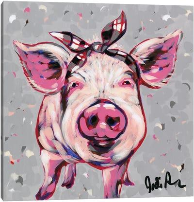 Farm Pop-Priscilla Canvas Art Print