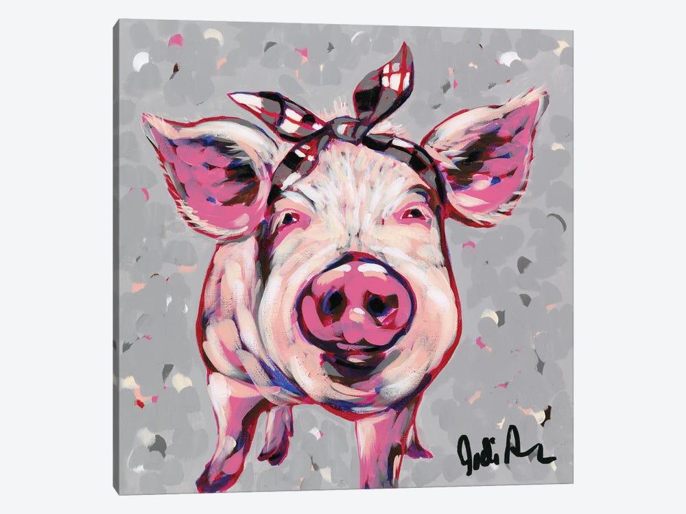 Farm Pop-Priscilla by Jodi Augustine 1-piece Art Print