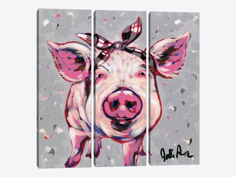 Farm Pop-Priscilla by Jodi Augustine 3-piece Art Print
