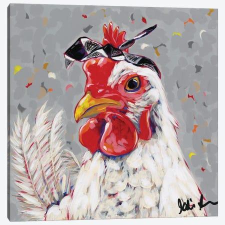 Farm Pop-Rosie Canvas Print #JAU17} by Jodi Augustine Canvas Wall Art
