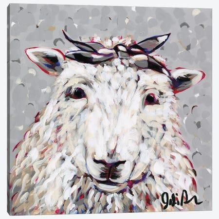 Farm Pop-Shelly Canvas Print #JAU18} by Jodi Augustine Canvas Print