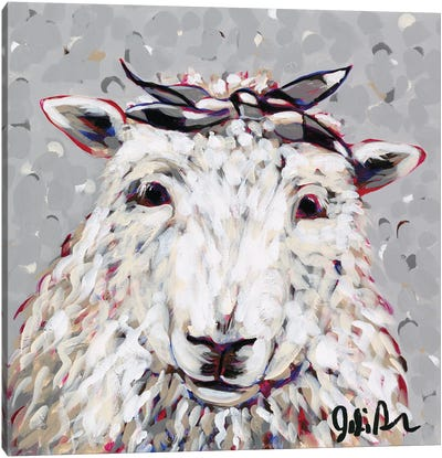 Farm Pop-Shelly Canvas Art Print