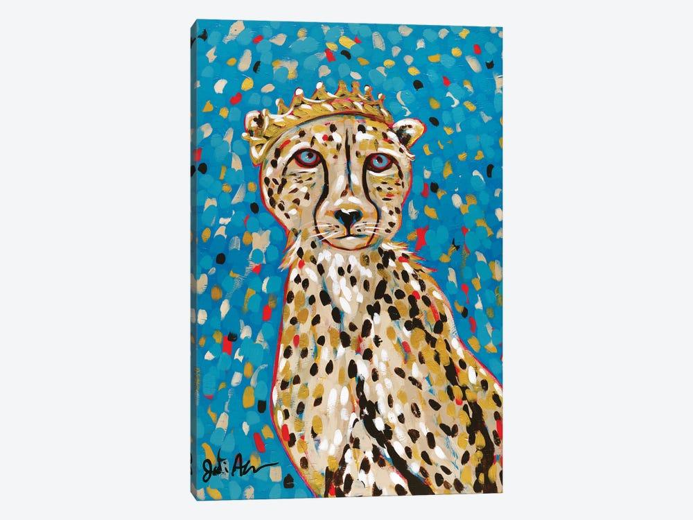 Queen Cheetah by Jodi Augustine 1-piece Canvas Art