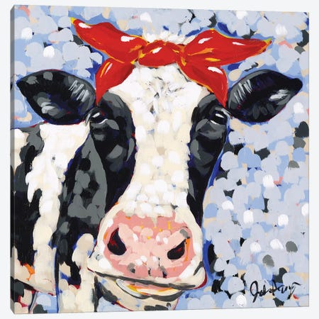 Bessie Canvas Print #JAU1} by Jodi Augustine Canvas Wall Art