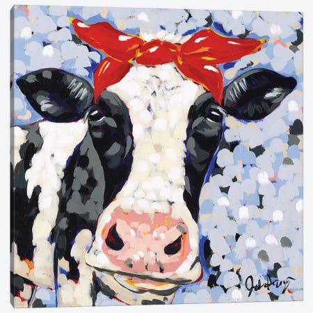 Bessie Canvas Print #JAU1} by Jodi Augustine Canvas Wall Art