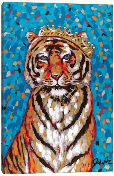 Queen Tiger Canvas Art Print