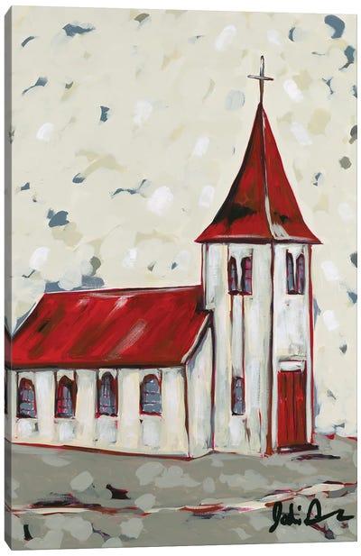 Here Is The Church Canvas Art Print