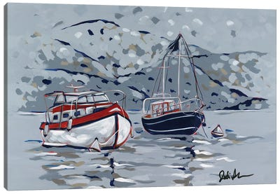 Nautical Display II Canvas Art Print
