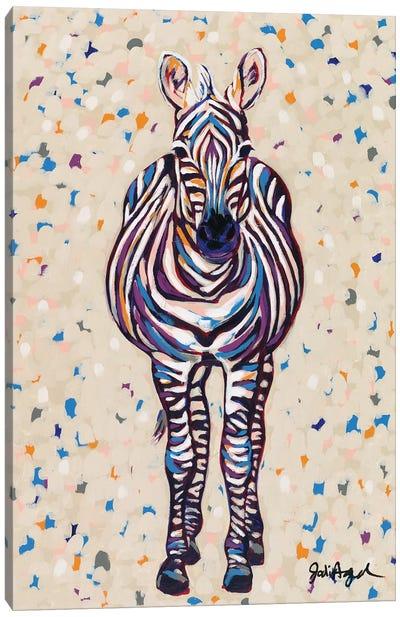 Fruit Stripe Zebra Canvas Art Print