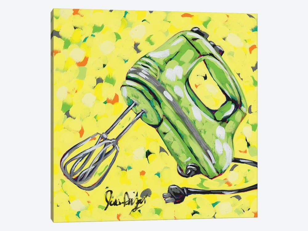 Kitchen Sketch Mixer by Jodi Augustine 1-piece Canvas Art Print