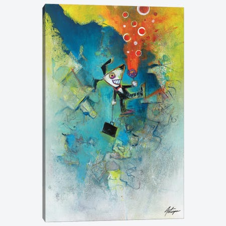 Excavation Canvas Print #JAV11} by Jack Avetisyan Canvas Artwork