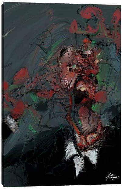 Self Destruction I Canvas Art Print
