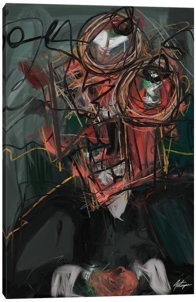 Self Destruction II  Canvas Art Print