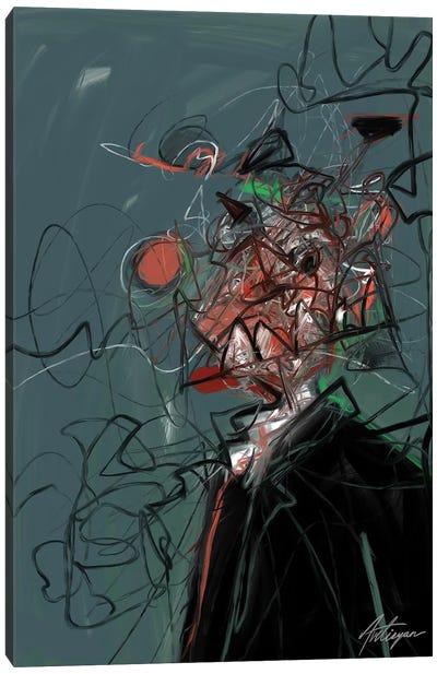 Self Destruction III Canvas Art Print