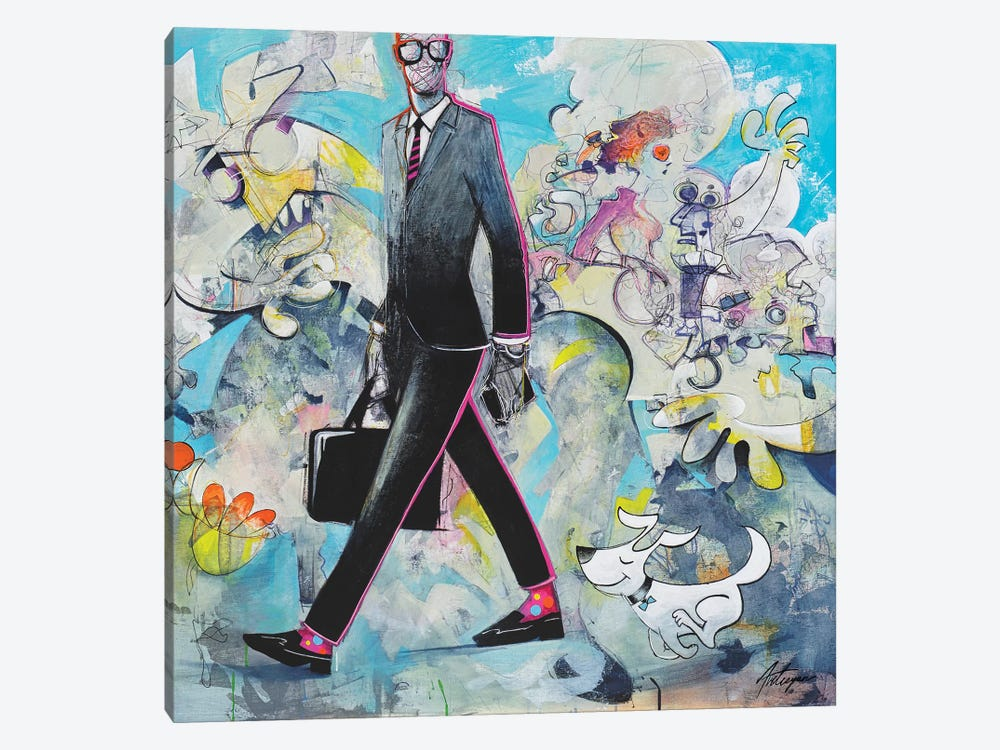 The Go Getter by Jack Avetisyan 1-piece Canvas Print