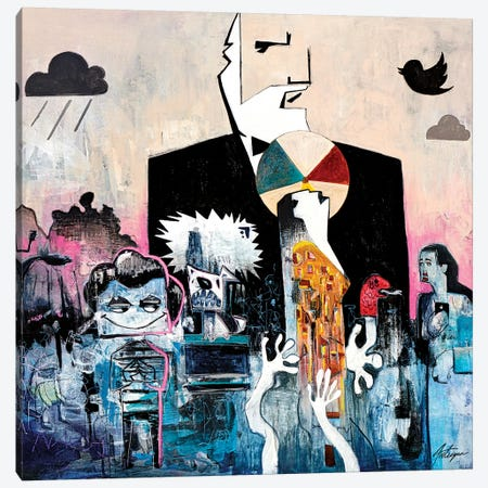 The Messengers Canvas Print #JAV20} by Jack Avetisyan Art Print