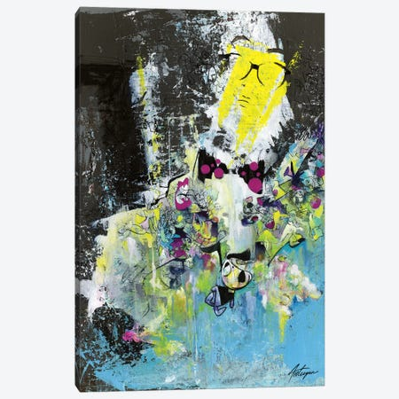The Professor With The Bow Tie Canvas Print #JAV21} by Jack Avetisyan Canvas Art Print