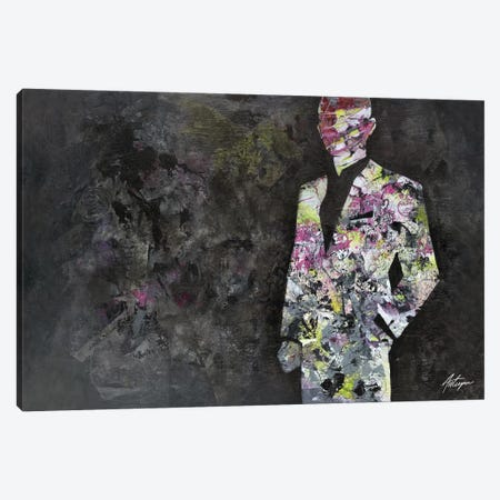 The Unknown Gentleman Canvas Print #JAV22} by Jack Avetisyan Art Print