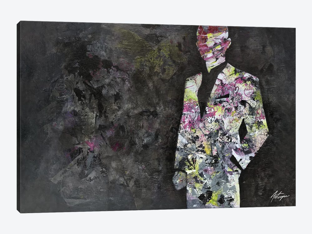 The Unknown Gentleman by Jack Avetisyan 1-piece Canvas Wall Art