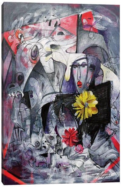 Turmoil Canvas Art Print