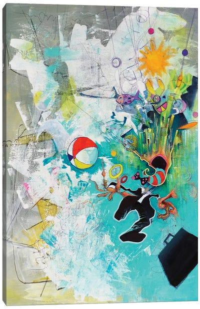 Unraveling Canvas Art Print