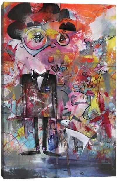 In A Tuxedo, I'm A Star Canvas Art Print