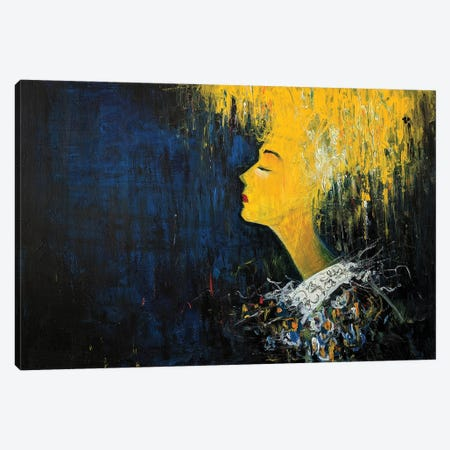 In Yellow III Canvas Print #JAV35} by Jack Avetisyan Canvas Art Print