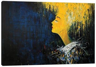 In Yellow III Canvas Art Print