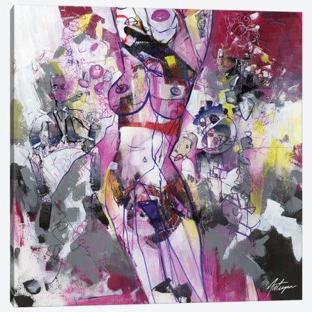 Conversations III Canvas Print #JAV5} by Jack Avetisyan Canvas Art