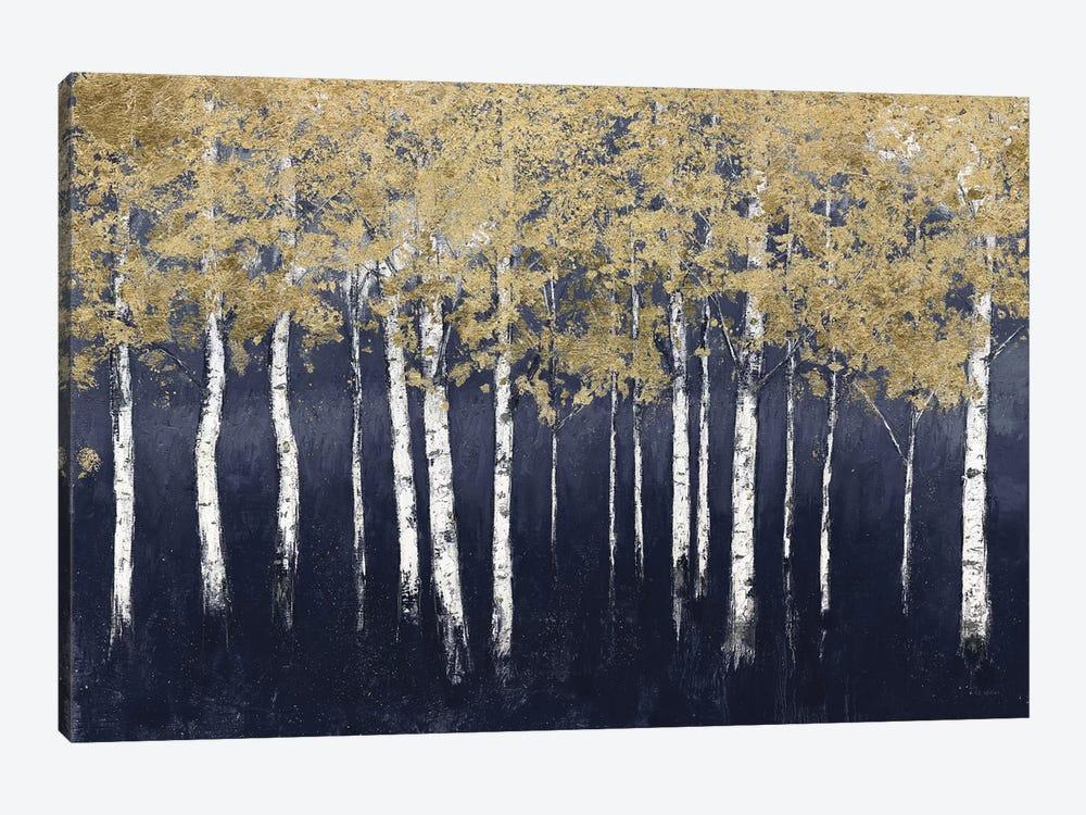 Shimmering Forest Indigo by James Wiens 1-piece Canvas Artwork