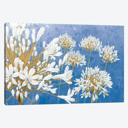 Golden Spring Blue Canvas Print #JAW108} by James Wiens Canvas Art