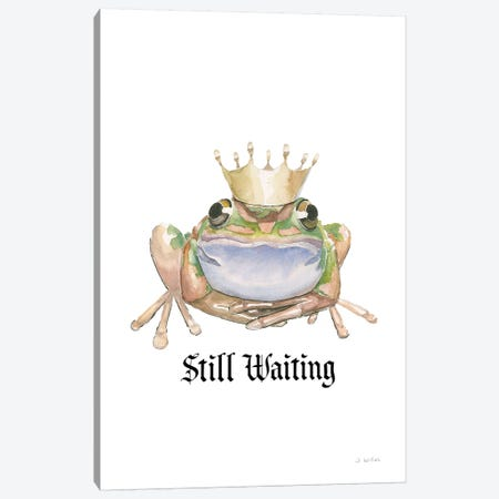 Still Waiting Canvas Print #JAW118} by James Wiens Canvas Print