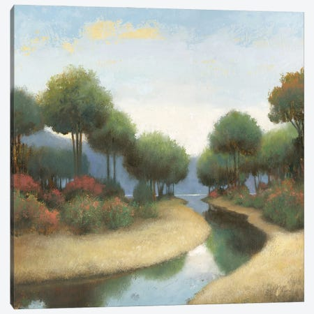 By the Waterways I Canvas Print #JAW123} by James Wiens Canvas Wall Art