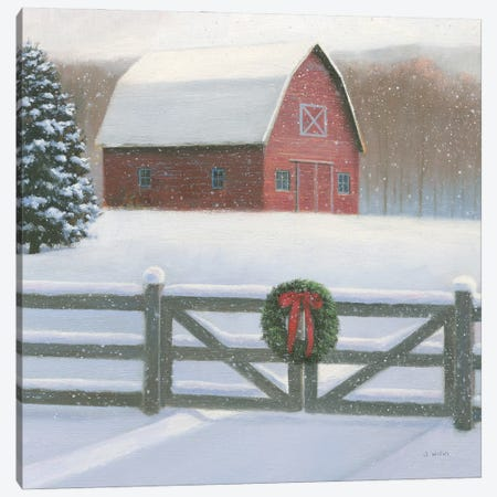 Christmas Affinity VI Crop Canvas Print #JAW125} by James Wiens Canvas Art Print