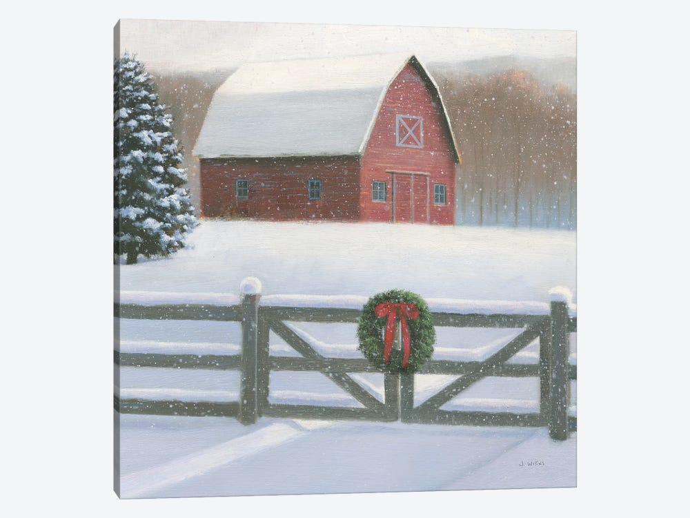 Christmas Affinity VI Crop by James Wiens 1-piece Canvas Wall Art