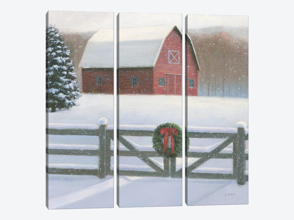 Christmas Affinity VI Crop by James Wiens 3-piece Canvas Artwork