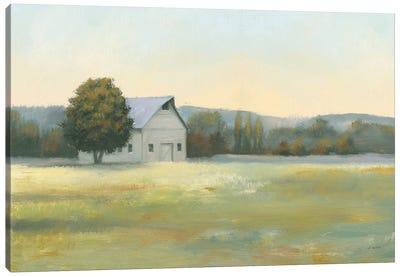 Morning Meadows II Canvas Art Print
