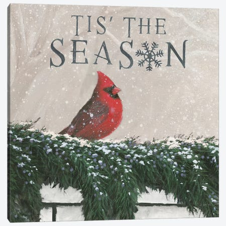 Tis The Season I Canvas Print #JAW13} by James Wiens Art Print