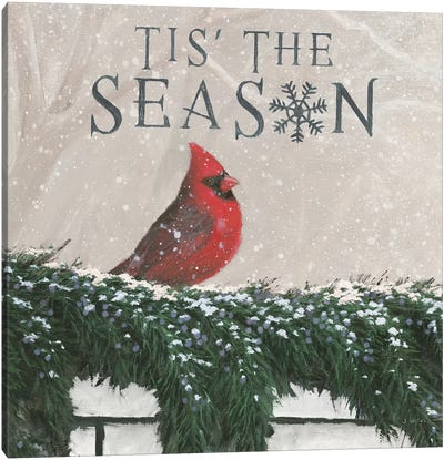 Tis The Season I Canvas Art Print