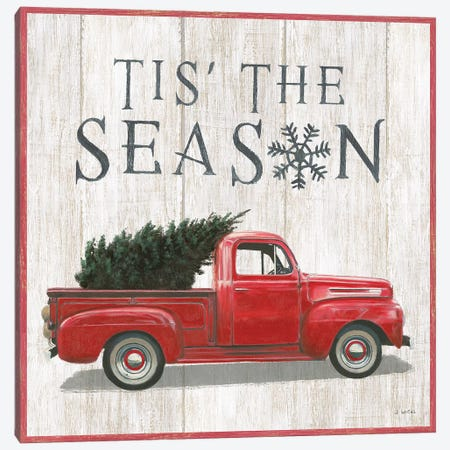 Tis The Season II Canvas Print #JAW14} by James Wiens Canvas Wall Art
