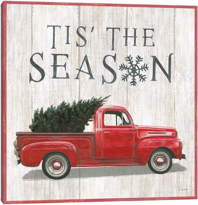 Tis The Season II Canvas Art Print