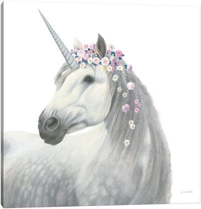 Enchanted Spirit Unicorn II Canvas Art Print