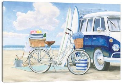 Beach Time I Canvas Art Print