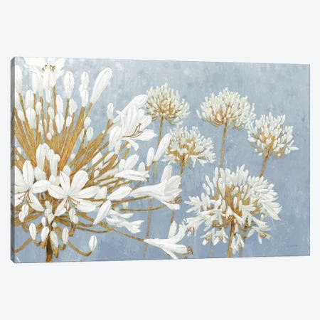 Golden Spring Blue Gray Canvas Print #JAW46} by James Wiens Canvas Print