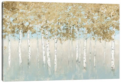 Shimmering Forest Canvas Art Print