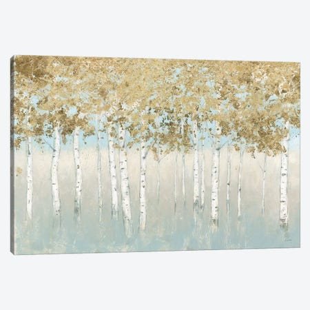 Shimmering Forest 3-Piece Canvas #JAW55} by James Wiens Canvas Art