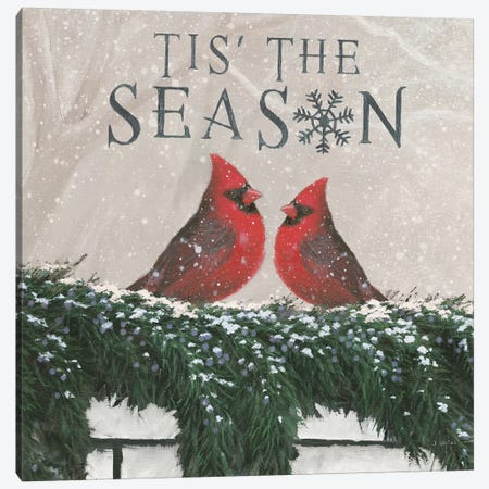 Christmas Affinity X Two Birds Canvas Print #JAW59} by James Wiens Canvas Art Print