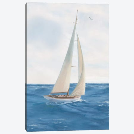 A Day at Sea I Canvas Print #JAW5} by James Wiens Canvas Art Print